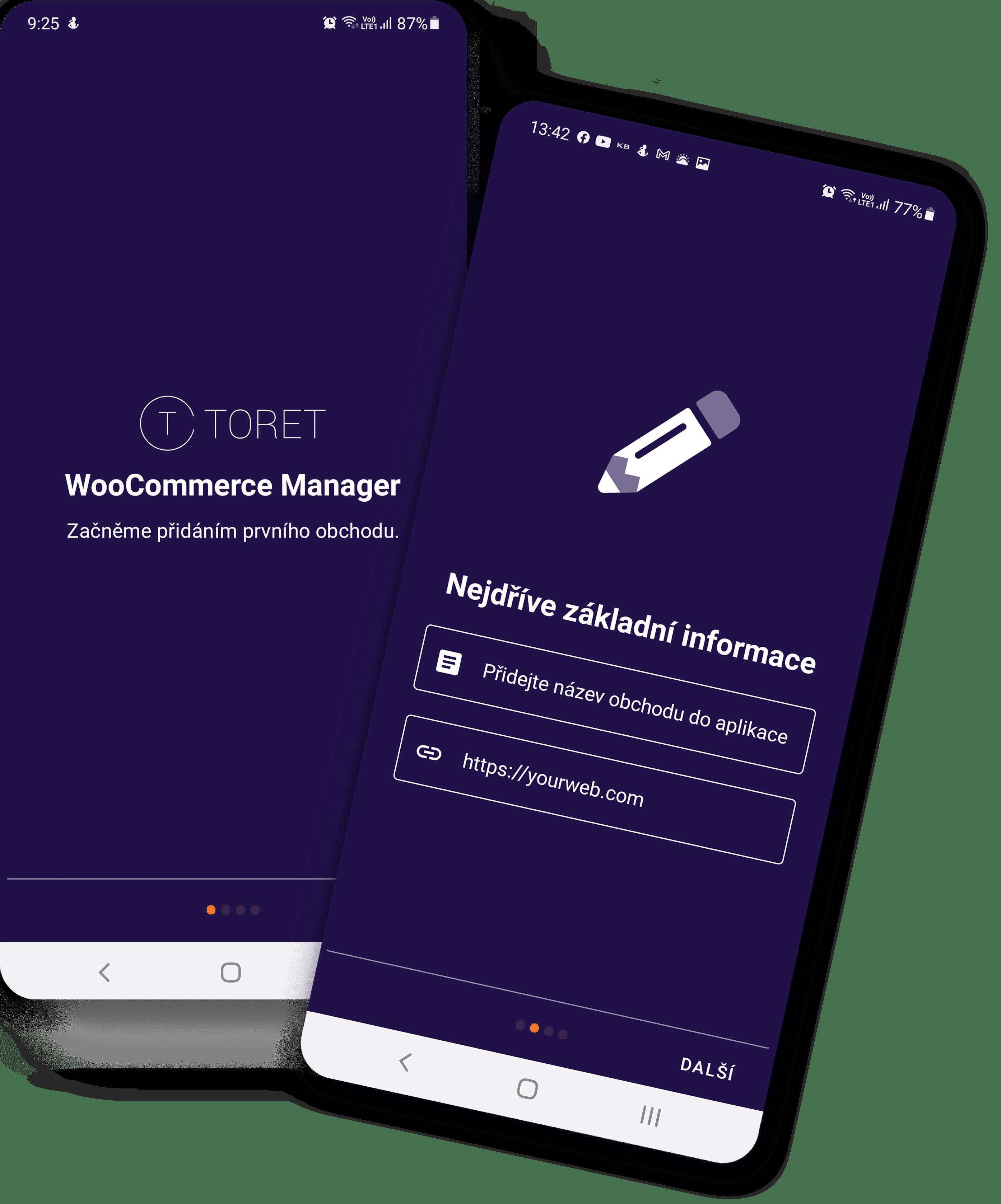 Toret WooCommerce Manager Intro 1