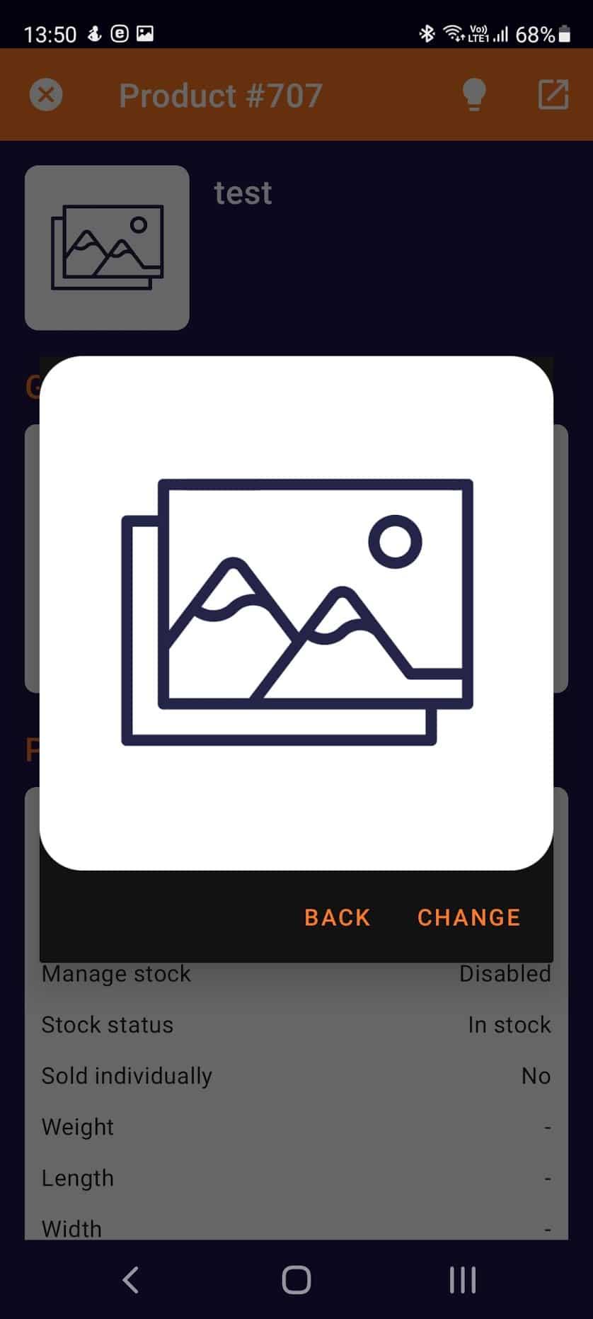 Toret WooCommerce Manager - e-shop overview (Light mode)